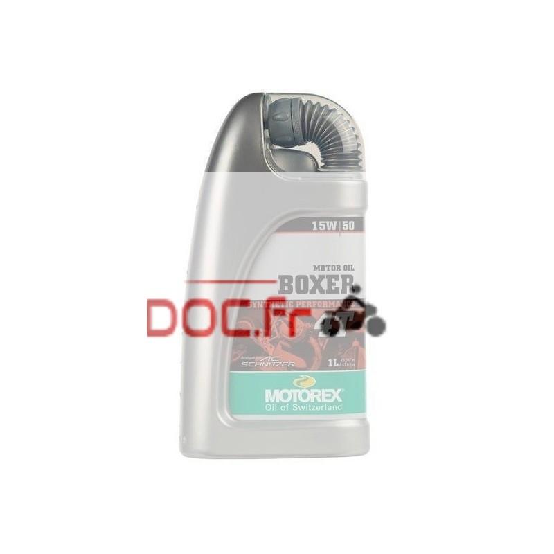 MOTOREX Boxer 4T 15W50 100% synthétique 1L
