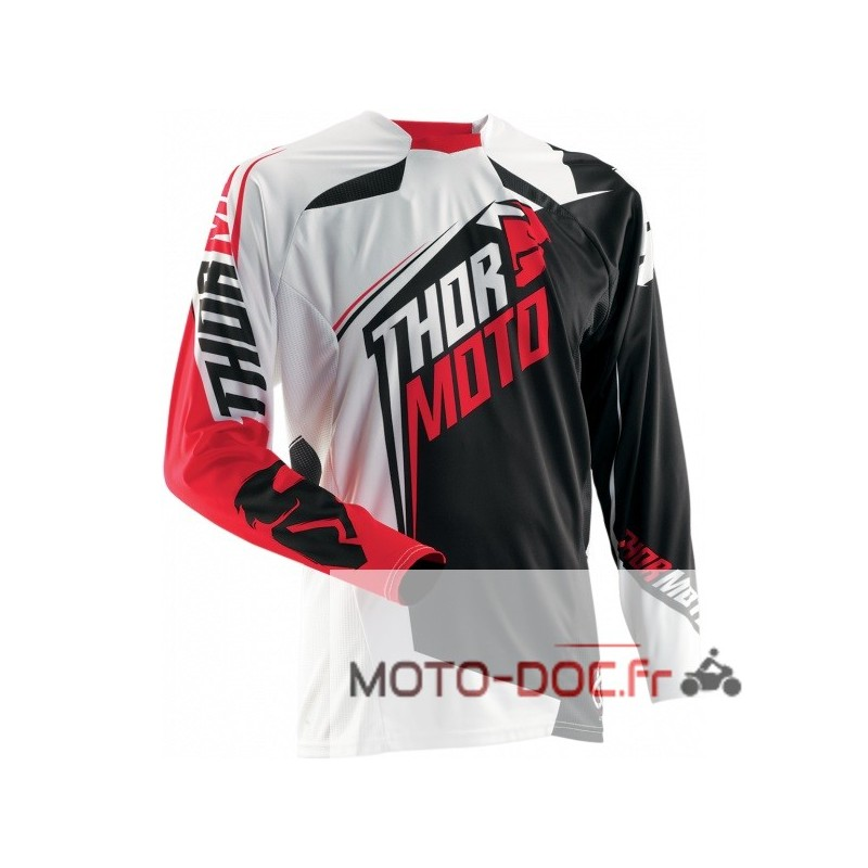 MAILLOT THOR CORE RAZOR RED