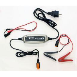 CTek - Chargeur de Batterie Moto / Scooter Et Quad - 6 Etapes de Charge 14.4V - 0.8A Ma